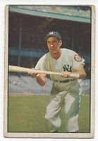 1953 Bowman baseball card #9 Phil Rizzuto New York Yankees VG+