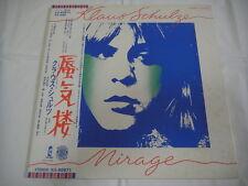 KLAUS SCHULZE-Mirage JAPAN 1st.Press w/OBI PROMO WHITE LABEL Tangerine Dream Can