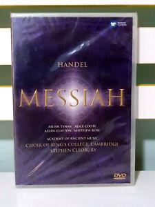 MESSIAH DVD HANDEL WARNER CLASSICS NEW IN PLASTIC