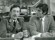JEAN ROCHEFORT GABRIELE TINTI LE COMPLOT 1973 VINTAGE PHOTO #1