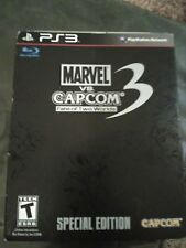 Marvel vs Capcom 3 Fate of Two Worlds Steelbook Special Edition PlayStation 3