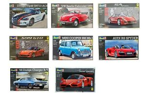 Revell Cars 1:24 Scale Choice of Kits Available