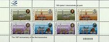 Albania 2015. 190th anniversary of the first locomotive, train. Full sheet MNH