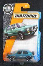 2017 Matchbox  Teal Variation  '90 Volkswagen Golf Country   Card #4  MB8-032018