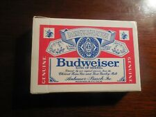 Budweiser - Plastic Coated Playing Cards, 52 Cards + 2 Jokers