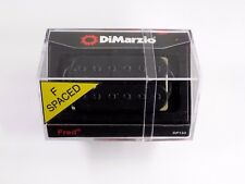 DiMarzio F-spaced Fred Humbucker Black W/Black Poles DP 153