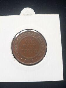 1923 Australian Half Penny. Rrp $1795