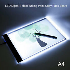 A4 LED Digital Tablet Writing Paint Copy Pads Board 3 Level Dimming Painting AU