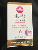 New Manuka Doctor Facial Oil Brightening with Manuka Oil, 0.85 fl oz