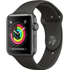 Neuf Apple Watch Series 3 38mm Aluminum Case Sport Gris espacial y Gris GPS