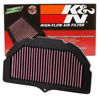 SU-1005 K&N Replacement Air Filter SUZUKI GSXR1000 05-08 (KN Powersports Air Fil
