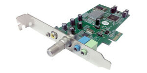 Premium PCI-e Based Analog Cable TV Tuner Video Capture Card For Desktop PC