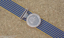 NATIONAL MEDAL MINIATURE WITH 10CM  RIBBON EXCELLENT REPRODUCTION POLICE