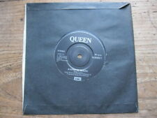 """VG+  QUEEN - A Kind Of Magic / A Dozen Red Roses For My Darling - 7"""" single"""