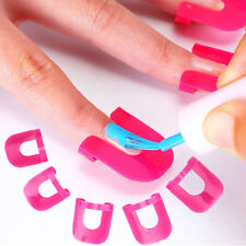 26Pcs/Pack Manicure Finger Nail Polish Shield Protector Tool Stickers Tips Cover
