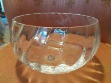 More details for dartington crystal large heavy fruit bowl