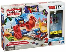 Angry Birds Transformers Telepods Optimus Prime Bird Raceway Accessory Bundles