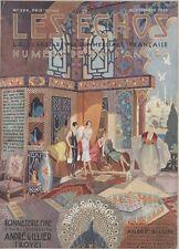 """""""LES ECHOS"""" Couverture originale entoilée 1925  Typo-Litho René-Georges GAUTIER"""