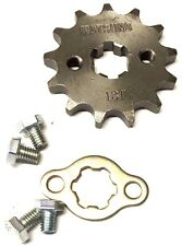 NEW #420 CHAIN FRONT PINION SPROCKET WITH 13 TEETH FOR ATV, DIRT BIKE, GO KARTS