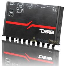 DS18 control De Subwoofer Ecualizador de 7 bandas con entrada de alto nivel Auto encender EQX7