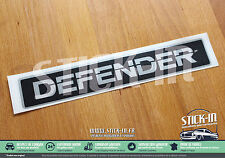 Stickers Autocollants Land Rover DEFENDER 90 110 Front Grill Panel Badge Capot