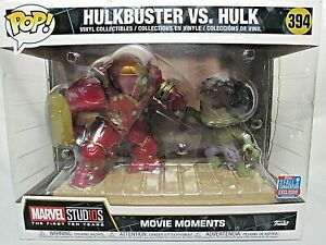 Funko POP! XL Movie Moments: Hulkbuster vs. Hulk NYCC 2018 Walgreens Exclusive