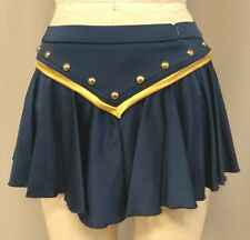 VINTAGE PRO-CHEER WINNIPEG BLUE BOMBERS SKIRT with attached briefs --  Size M
