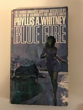 Blue Fire Phyllis A Whitney Paperback Suspense Rare Cover