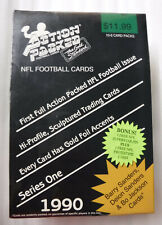 1990 Action Packed NFL Football Sealed Box Bnus Superstar Pin/NFL Prototype Card