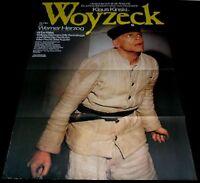 1979 Woyzeck ORIGINAL GERMANY A1 POSTER Werner Herzog Klaus Kinski