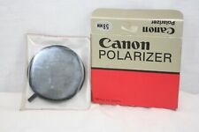 Canon 58mm Circular Polarizing Filter With Box and Sleeve