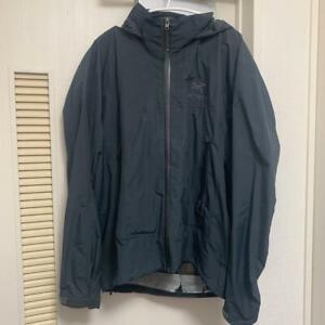 ARC'TERYX Beta SL JKT Nylon Mountain Parka Men'S Jacket Size S Black USED