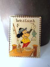 Rare Pin's Walt Disney Jonathan Grey Timbres Stamp Mickey  ETAT NEUF