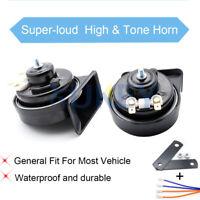 Car Loud Snail Horn Waterproof 125db Dual Pitch For Vehicle Motorbike Van Truck