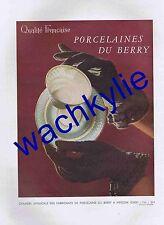 France illustration n°229 du 04/03/1950 Salon Arts ménagers Porcelaine du Berry