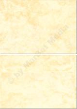 Marmorkuverts DIN C6 100 Kuverts gelb