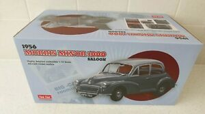 Boxed Sunstar 1956 Morris Minor 1000 Saloon Grey 1/12 scale