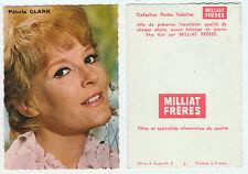 PETULA CLARK  petite carte éditée par MILLIAT FRERES  Collection Photos Vedettes