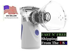 Mini Portable Ventilator Travel Rechargeable Mesh Nebulize USA SHIP