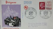 ENVELOPPE PREMIER JOUR - 9 x 16,5 cm - 1970 - ATELIER DU TIMBRE DE PERIGUEUX