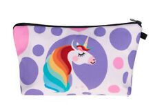 HORSE & WESTERN HOME SCHOOL GIFTS UNICORN PENCIL ACCESSORY COSMETIC CASE