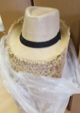 WHOLESALE good quality Hessian hats 60 @ £2.50   EACH