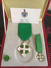 Set da cavaliere Ordine Religioso e Militare dei santi Maurizio e Lazzato