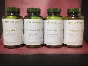 Nu Skin Pharmanex CordyMax Cs-4 x 4, 120 Capsules, Exp 07/2022