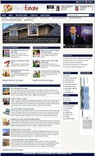 COMPLETE REAL ESTATE BLOG WEBSITE BUSINESS FOR SALE! with TARGETED SEO CONTENT
