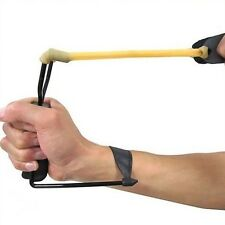 Powerful Wrist Slingshot Brace Bow Outdoor Hunting Toys Prep Folding Sniper NEW