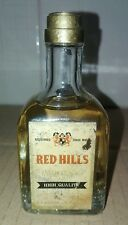 Mignon Miniature RED HILLS WHISKY OLD BLENDED 40cc 43% Rare Vintage Collection