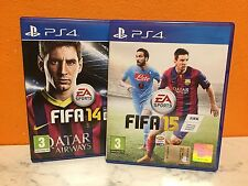 Lotto 2 Giochi Fifa 14 + Fifa 15 PS4 PlayStation 4