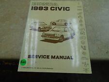 Honda Civic Used Service Manual VP 1983 VP-CM360