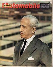 [SM4] RIVISTA L'AUTOMOBILE ANNO 1967 NUMERO 35 VITTORIO VALLETTA
